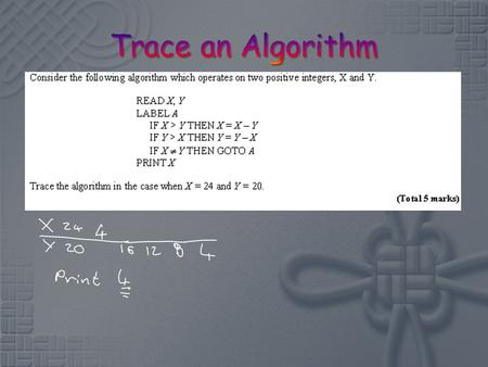 To know and use the Bubble Sort and Shuttle Sort Algorithms.