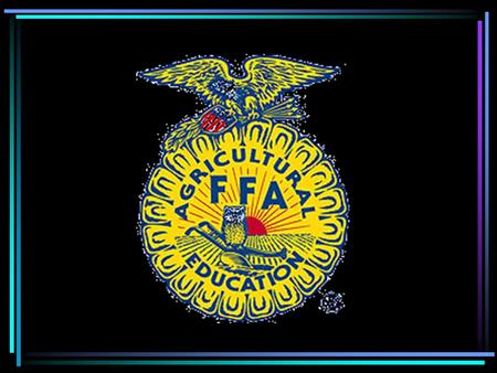 Selling Your FFA Chapter Online Making Use of the INTERNET…
