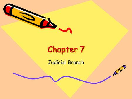 Chapter 7 Judicial Branch. Review ???? 1.What is any behavior that is illegal called? 2.What laws are passed by lawmaking bodies? 3.What is an appeal?