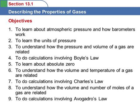 Objectives To learn about atmospheric pressure and how barometers work
