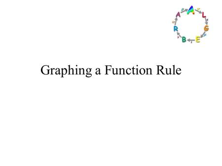 Graphing a Function Rule. Goals Goal To graph equations that represent functions. Rubric Level 1 – Know the goals. Level 2 – Fully understand the goals.