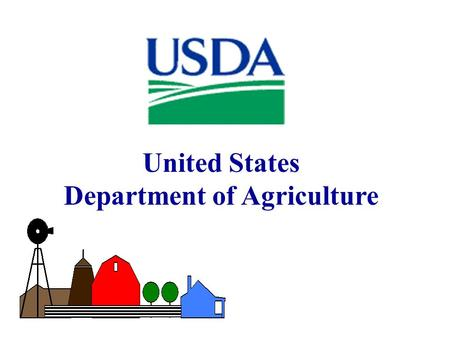 United States Department of Agriculture. Features of USDA SBIR Program 4Award Grants Only; Awards Based on Scientific and Technical Merit; Ideas are Investigator-Initiated.