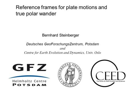 Reference frames for plate motions and true polar wander