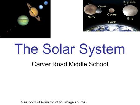 Carver Road Middle School