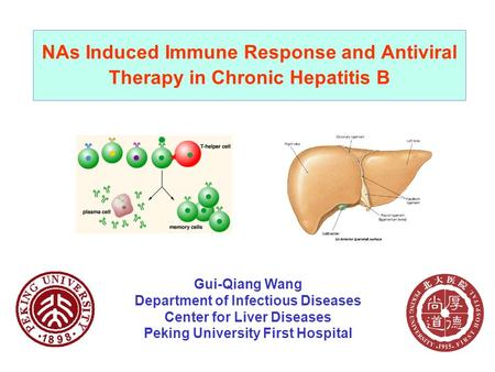 Gui-Qiang Wang Department of Infectious Diseases