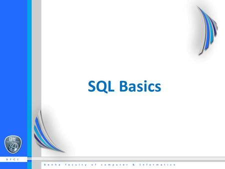 SQL Basics. What is SQL? SQL stands for Structured Query Language. SQL lets you access and manipulate databases.