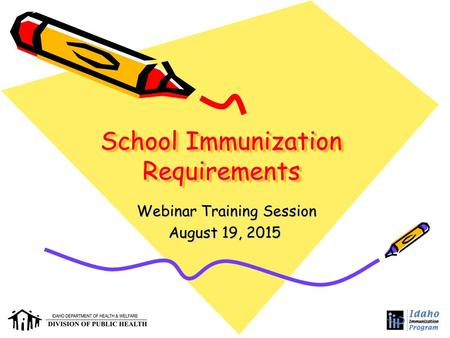 School Immunization Requirements