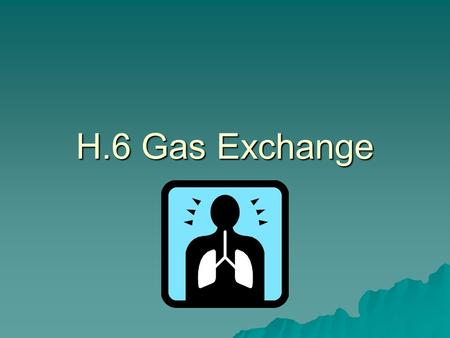 H.6 Gas Exchange.