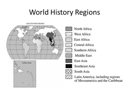 World History Regions. The Middle East: Mesopotamia (Sumer, Babylon), Hittites, Assyrians, Persian (Achaemenid)Empire, Lydians, Phoenicians, Hebrews,