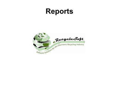Reports. Report Summary Warehouse Reports Returned Material Serial Numbers Not Found This report list the serial numbers of material returned which were.