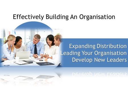 Effectively Building An Organisation. Four Cornerstones of Market Australia.