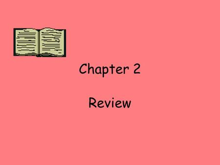 Chapter 2 Review. Precipitation What is water that falls to the Earth?
