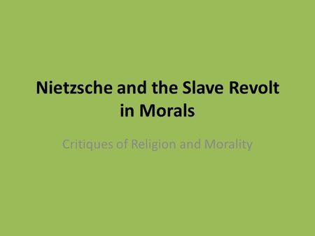 an analysis of nietzsche is dead Lesley chamberlain: the big ideas: nietzsche's declaration was not an atheist broadside in today's context, but an attack on the link between reason and divinity.
