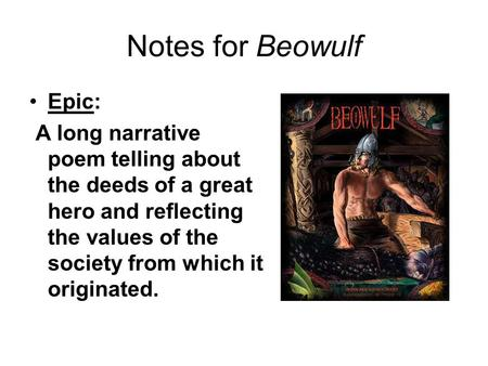 An analysis of the poem beowulf written during the anglo saxon period of english literature
