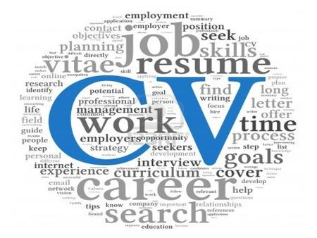 Writing a CV Curriculum Vitae Yolanda van den Bemd Unitec Career Centre.