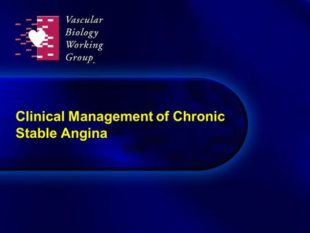 Clinical Management of Chronic Stable Angina. Anti-ischemic strategies in stable CAD Medical therapyPCICABG Initial therapy Recurrent ischemia TMREECPSCS.
