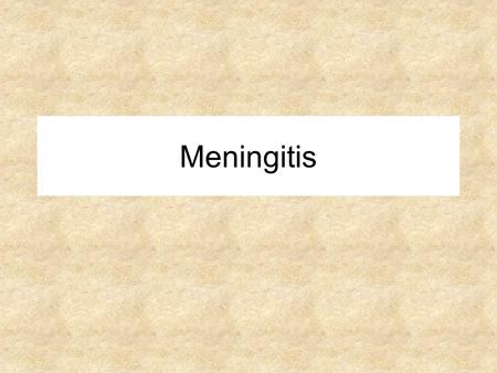 Meningitis. What is meningitis? Simply put meningitis is the inflammation of the membranes that surround the brain and spinal cord. It is caused by both.