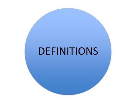 "DEFINITIONS. SOCIALISATION ""the process by which individuals learn to modify their behaviour to conform to what is considered 'acceptable' in their."