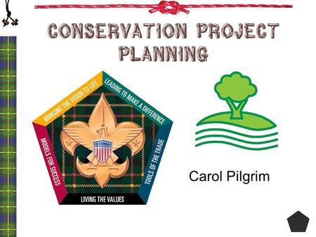 Conservation Project Planning Carol Pilgrim. Conservation …What Does It Mean? conservation The act of preserving, guarding, or protecting; the keeping.