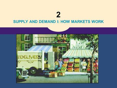 2 SUPPLY AND DEMAND I: HOW MARKETS WORK Copyright © 2004 South-Western A Market Economy Consumer: a person who buys and uses goods and services Producer: