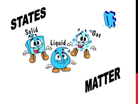 Substances exist as either solids, liquids or gases. But what makes them different? It has to do with the arrangement and motion of the particles that.