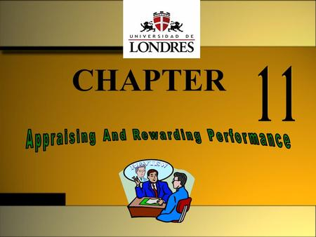 CHAPTER. Supervisión y controlM. En C. Eduardo Bustos Farías2 What is Performance? Performance is determined by three factors: 1. Effort: how hard a person.