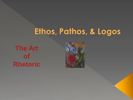 The Art of Rhetoric.  Aristotle defines rhetoric as › According to Aristotle, rhetoric is the ability, in each particular case, to see the available.