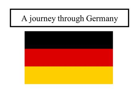 A journey through Germany. Germany Population: 81.8 million Area: 357 021 km² Currency: Euro (€) Chancellor: Angela Merkel Capital: Berlin.
