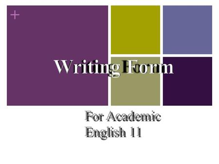 + For Academic English 11. Self Assessment Questions for Essay Structure Introduction:  Is my thesis or main idea clear?  Is my thesis stated in.