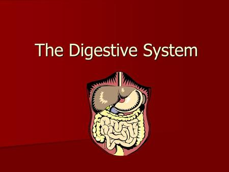 The Digestive System. The Digestive System and Body Metabolism Slide 14.1 Copyright © 2003 Pearson Education, Inc. publishing as Benjamin Cummings  Digestion.