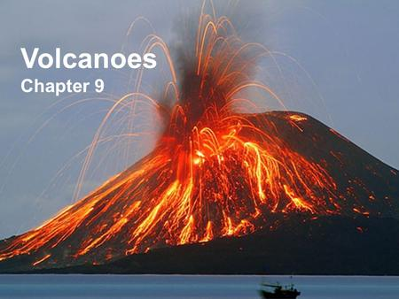 Volcanoes Chapter 9. What is a volcano? A volcano is an opening in the Earth's surface. Ash and lava come out and build up forming a mountain. The word,