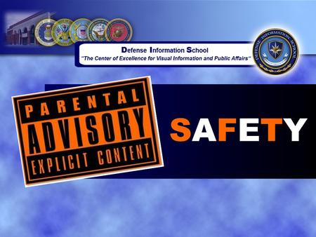 SAFETYSAFETY. Overview ●Introduction to Safety ●Potential Electronic Mishaps ●Safe Work Practices.