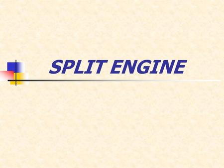 SPLIT ENGINE. 1. Abstract. 2. Introduction. 3. Scuderi split cycle engine. 4. How it works? 5. How does the air get from one cylinder to the other? 6.