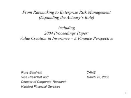Risk Management and Insurance term paper services