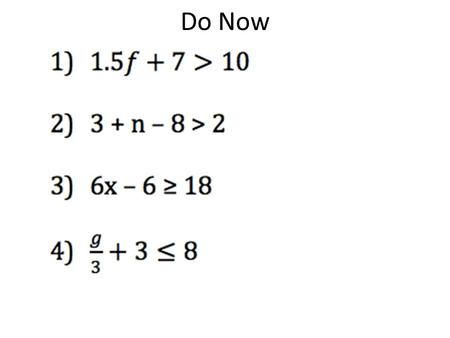 Do Now. 2/5/2015 7-3B Integers and Absolute Value.