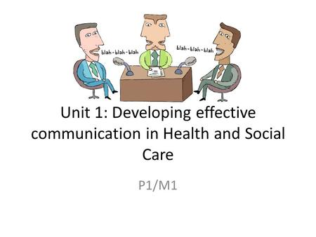 unit 1 communication m1 Btec unit 4 assignment: verbal and written business communication  kings office supplies address is unit 1, stein way, walfrid road,.