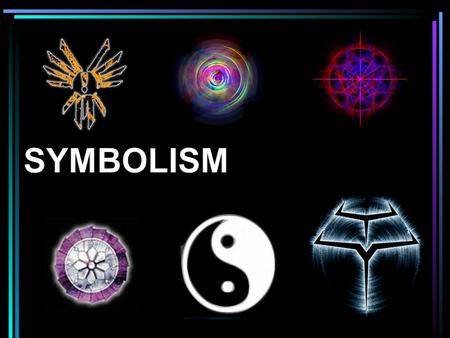 What does each of these symbols stand for? Why do you think they have taken on the meanings they have? justice luck love Where Do We Get Symbols?