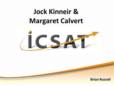 Jock Kinneir & Margaret Calvert Brian Russell. Exam expectations Issues associated with designers are regularly tested in the written paper. You should.