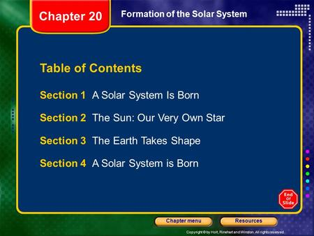 a solar system is born - photo #33
