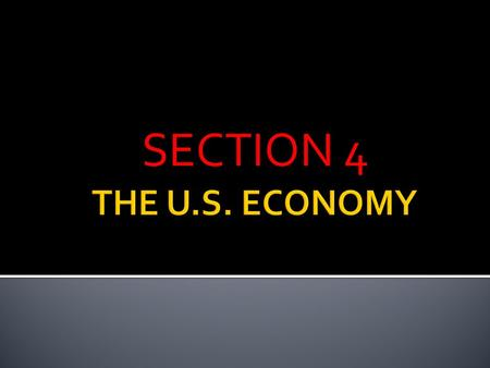 SECTION 4.  US ECONOMY GREW RAPIDLY IN THE 1920s  HIGH PRODUCTION LARGE COMPANY PROFITS = STOCK PRICES ROSE AS A RESULT  WHAT IS A STOCK??????????