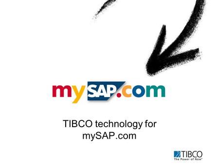 TIBCO technology for mySAP.com. TIBCO Infrastructure for mySAP.com Buyer Seller TIB Hub 3. Content Aggregation InternetIntranetWireless Home Office Web.