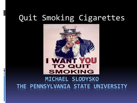 Quit Smoking Cigarettes. Do you know of anyone whose death was related to or caused by smoking cigarettes?  My moms dad was diagnosed with lung cancer.