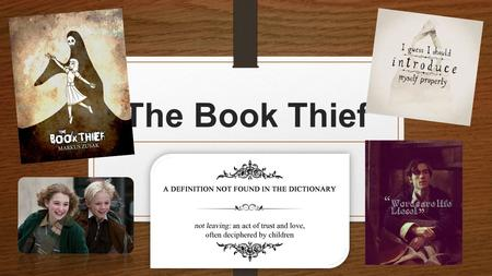 'The Book Thief'.