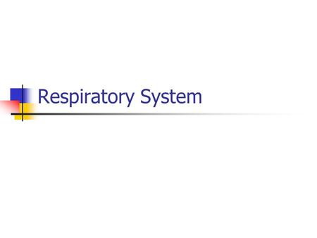 Respiratory System. CATS Respiratory system on cat: –Diaphragm –Visceral pleura –Trachea –Pharynx (Back of throat) –Larynx –Bronchus.