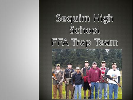 A competitive sport of shooting clay pigeons that originated in the 18 th century that promotes individualism as well as team building. A round of trap.