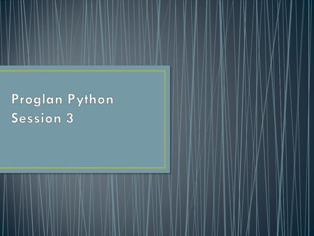 Python uses boolean variables to evaluate conditions. The boolean values True and False are returned when an expression is compared or evaluated.