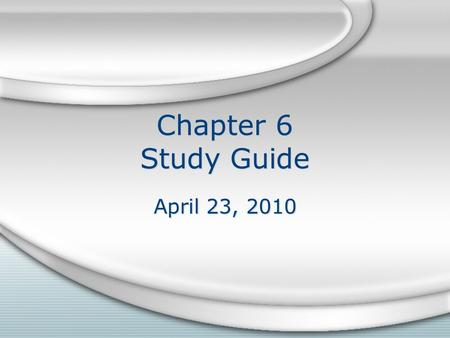 Chapter 6 Study Guide April 23, 2010. Section 1 Be able to identify where Earth's volcanic regions are found. Be able to explain why they are found there.
