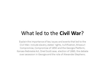 states rights in the civil war essay