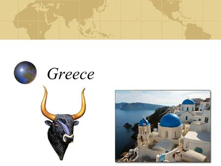 Greece. Based on the map below, how does geography play a role in the development of Greece?