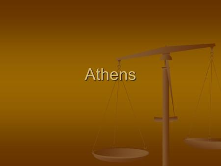 Athens. Facts about Athens It was first ruled by kings. In 750 b.c. nobles, merchants, etc took over the government and set up an oligarchy. Oligarchy—a.